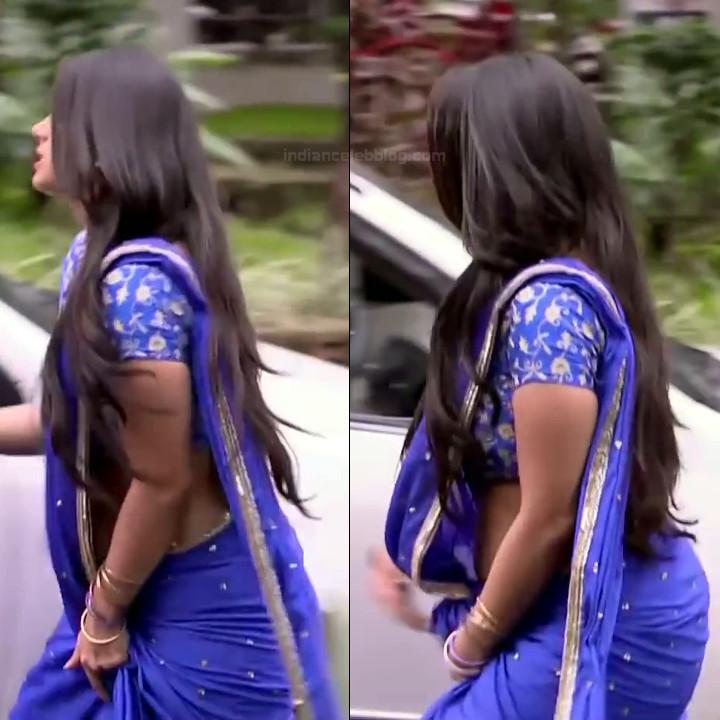 Chandni Bhagwanani hindi tv actress Tumhi S3 4 hot saree pics