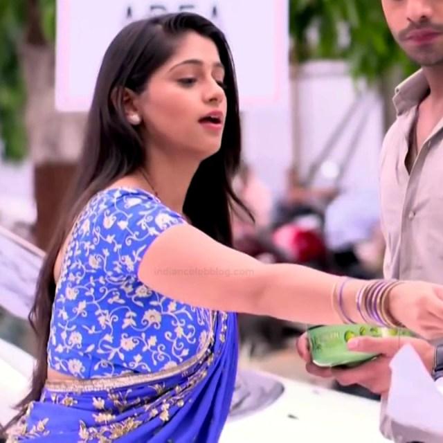 Chandni Bhagwanani hindi tv actress Tumhi S3 6 hot saree photo