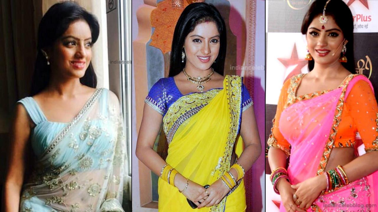 Deepika Singh hot Transparent sari photo gallery