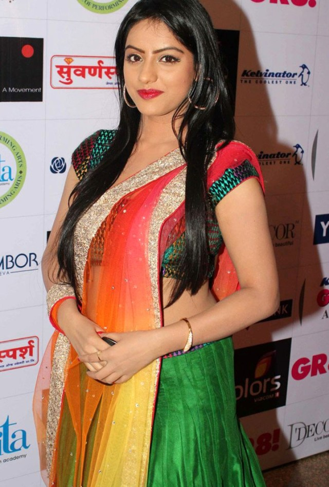 Deepika singh Hindi TV actress YTDS3 10 hot event photo in lehenga