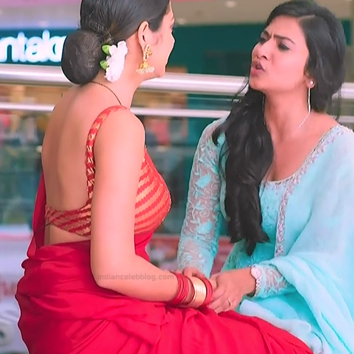 Drashti dhami hindi tv actress Silsila S2 18 hot backless saree pics