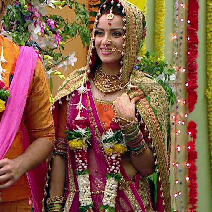 Ekta Kaul Hindi serial actress CTS1 1 hot lehenga photo