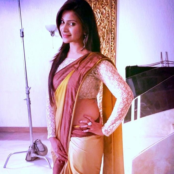 Hindi TV actress Aleeza khan CTS2 6 hot saree photo