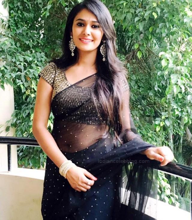 Kavya Gowda Kannada TV actress 9 hot saree photo