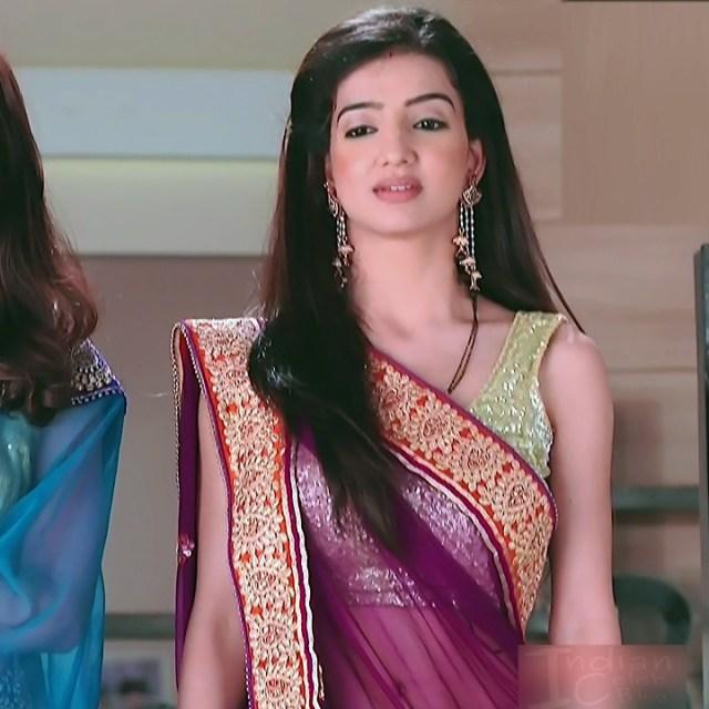Lovey sasan hindi tv actress Saath NSS1 10 hot saree photo