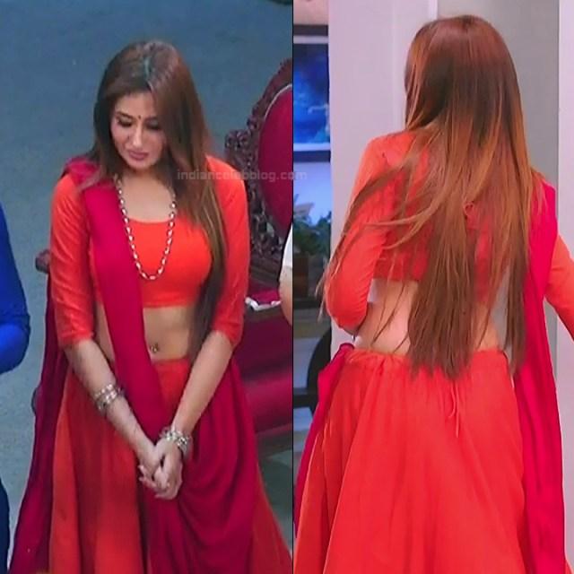 Mahira sharma Hindi tv actress Naagin 3S1 16 hot lehenga pics