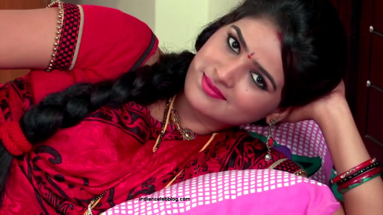 Monisha telugu tv actress Nandhini VNS1 11 hot saree photo