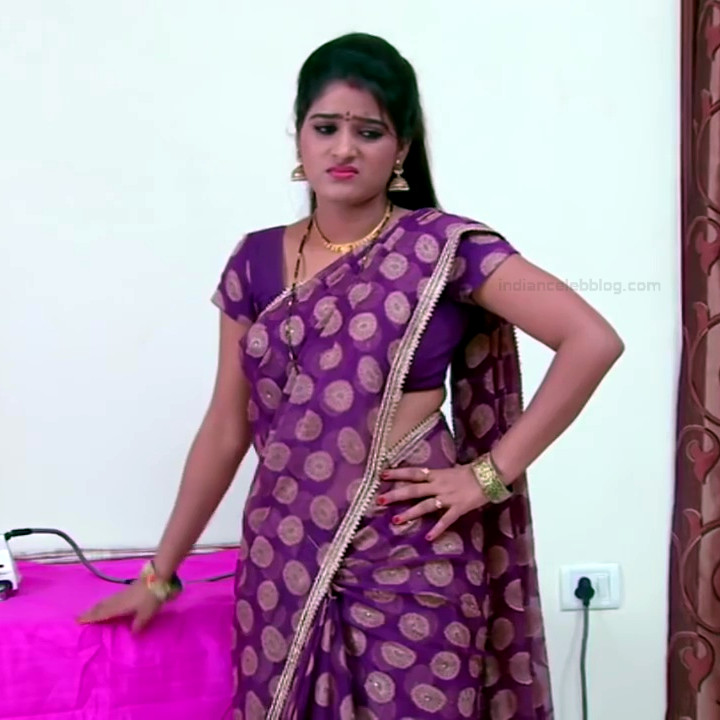 Monisha telugu tv actress Nandhini VNS1 17 hot sari caps