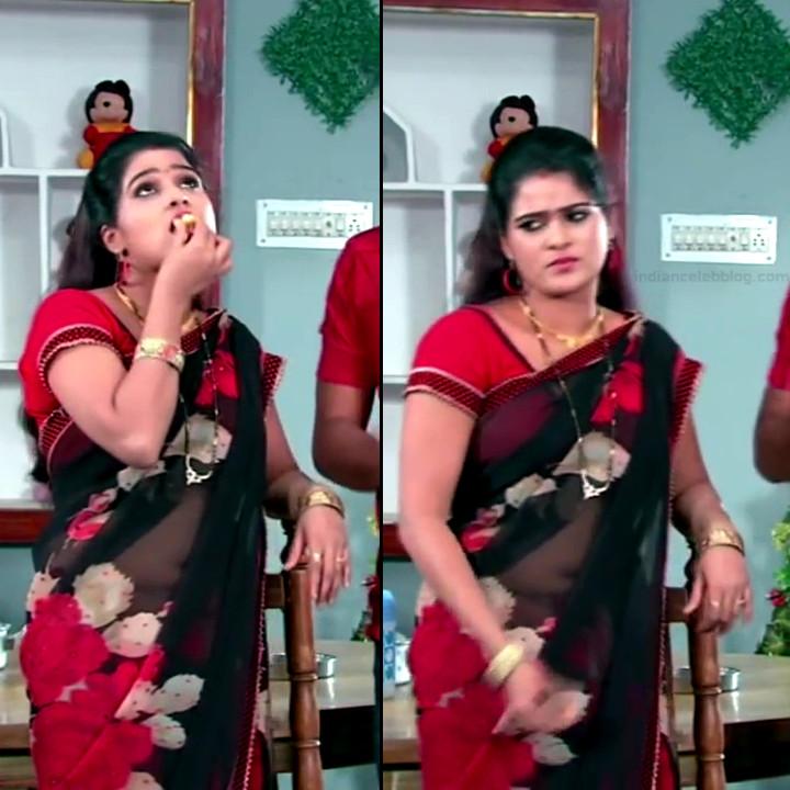 Monisha telugu tv actress Nandhini VNS1 22 hot saree pics