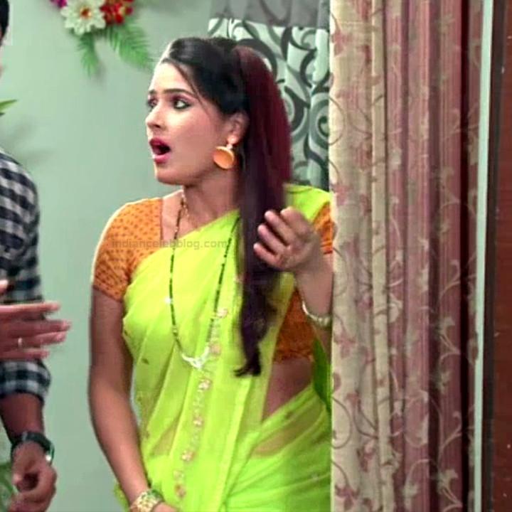 Monisha telugu tv actress Nandhini VNS1 26 hot saree photo