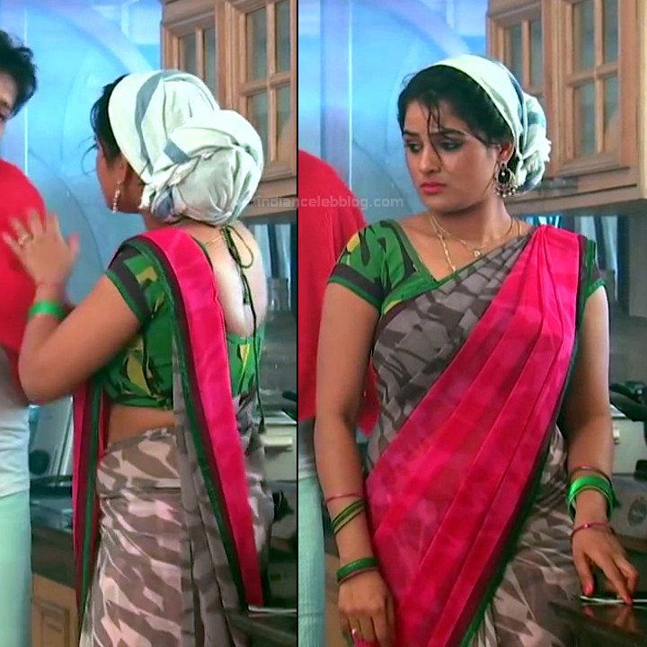 Monisha telugu tv actress Nandhini VNS1 6 hot saree pics