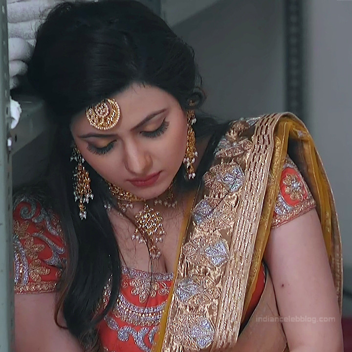 Naazuk Lochan Hindi TV actress JijiMS1 9 hot lehenga photo