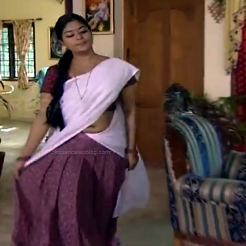 Neepa tamil tv actress PonDTS1 15 hot sari caps