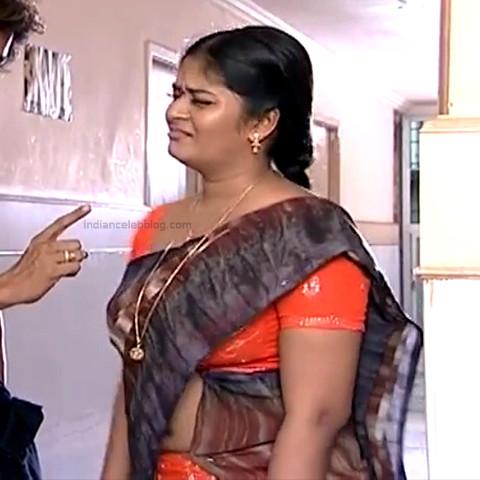 Neepa tamil tv actress PonDTS1 2 hot saree pics