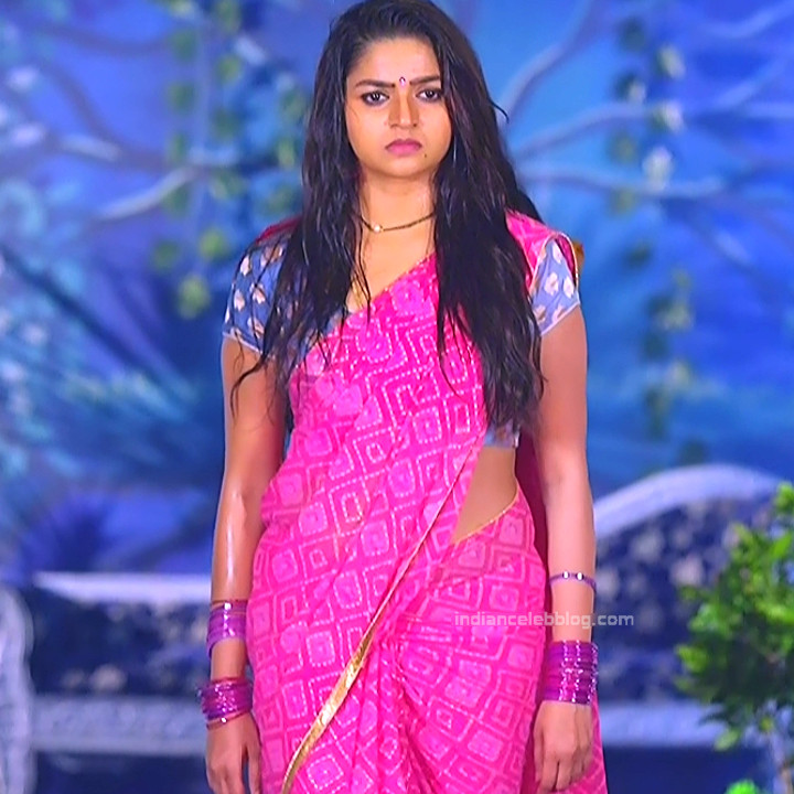 Nithya ram Tamil tv actress Nandhini S1 12 hot sari photo