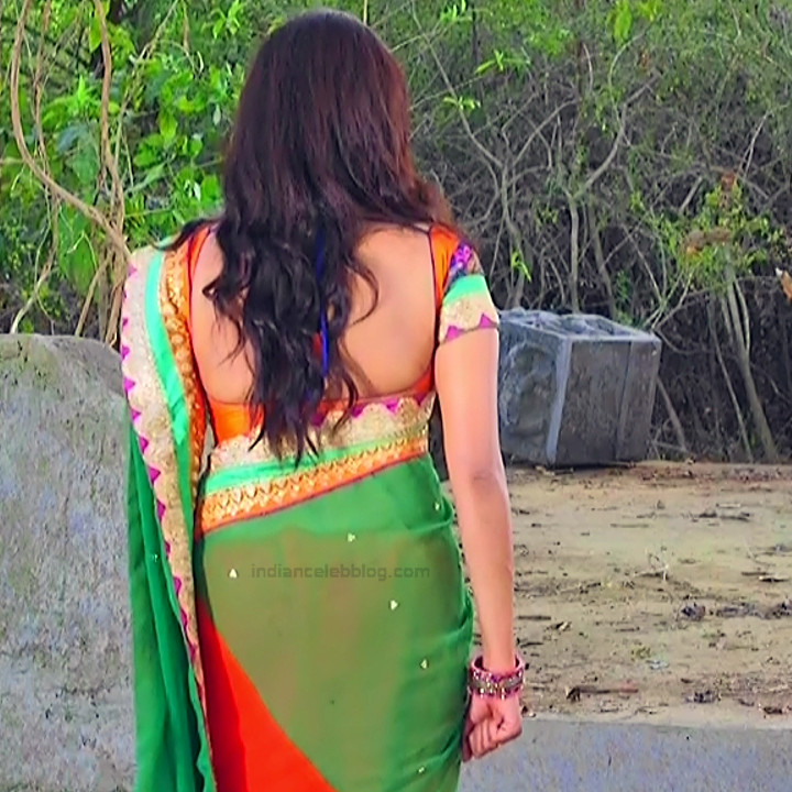 Nithya ram Tamil tv actress Nandhini S1 13 hot saree photo