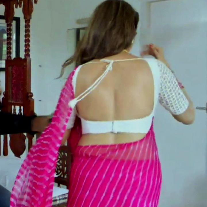 Nithya ram Tamil tv actress Nandhini S1 21 hot saree pics