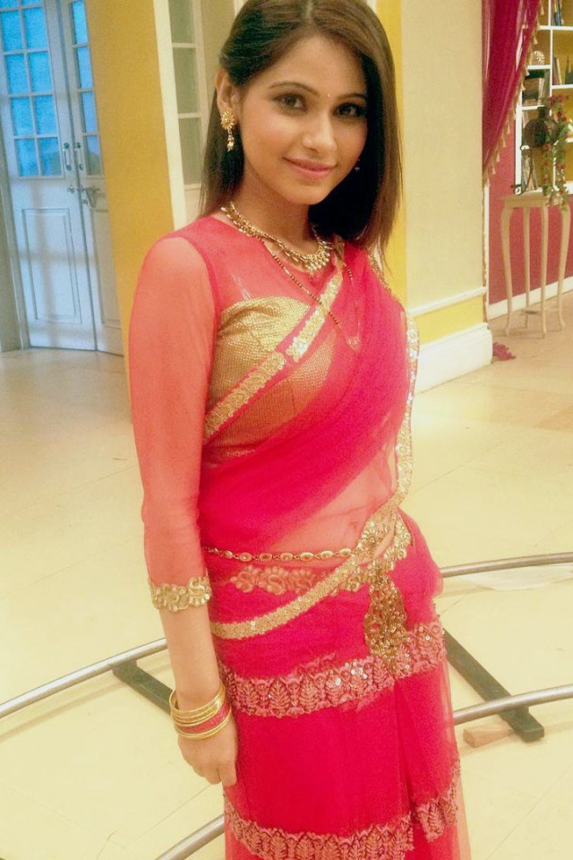 Pallavi gupta hindi tv actress CTS2 8 hot sari photo