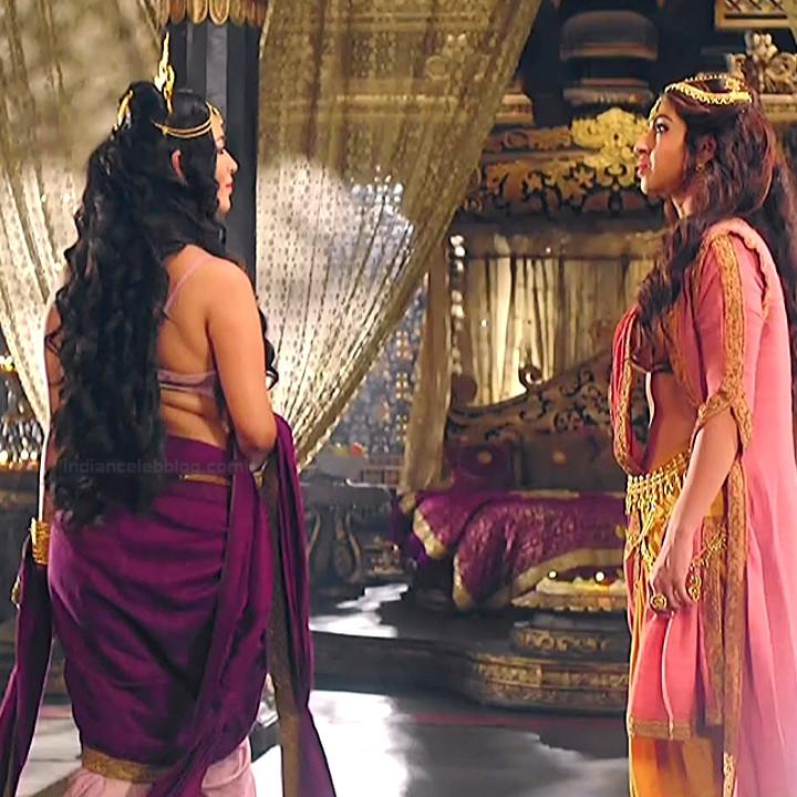 Piyali Munsi Hindi TV actress Prithvi VS2 2 hot backless photo
