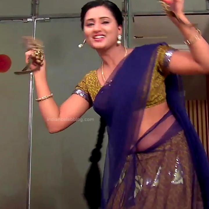 Princy B Krishnan aka Amrutha Telugu Tv actress Kumkuma PS2 13 hot saree photo
