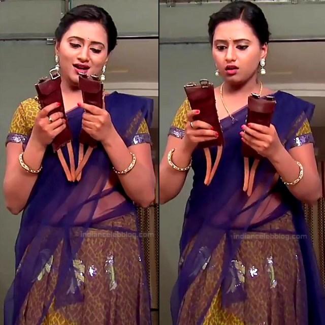 Princy B Krishnan Telugu Tv actress Kumkuma PS2 11 hot saree pics
