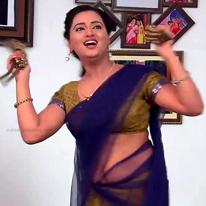 Princy B Krishnan Telugu Tv actress Kumkuma PS2 14 hot saree image