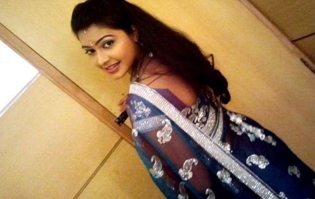 Rachitha Mahalakshmi Tamil TV actress CTS1 15 hot saree photo