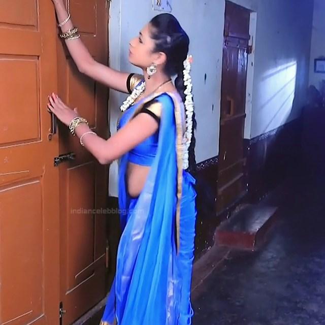 Ruthu Sai Kannada TV actress Putta GMS1 4 hot sari photo