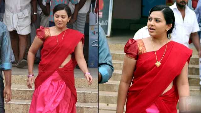 Shwetha Bandekar Tami TV actress CTS1 21 hot saree movie pics