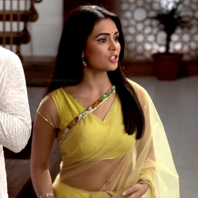 Sonal Vengurlekar TV actress Yeh VRS7 20 sari navel show