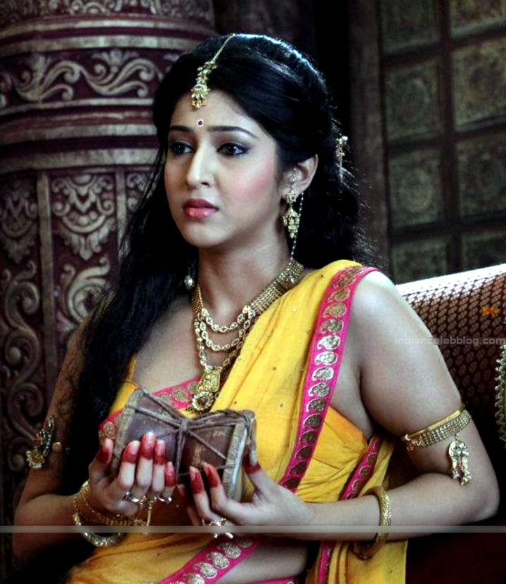 Sonarika Bhadoria Tv actress Devon ke dev CTS1_18_Sari image