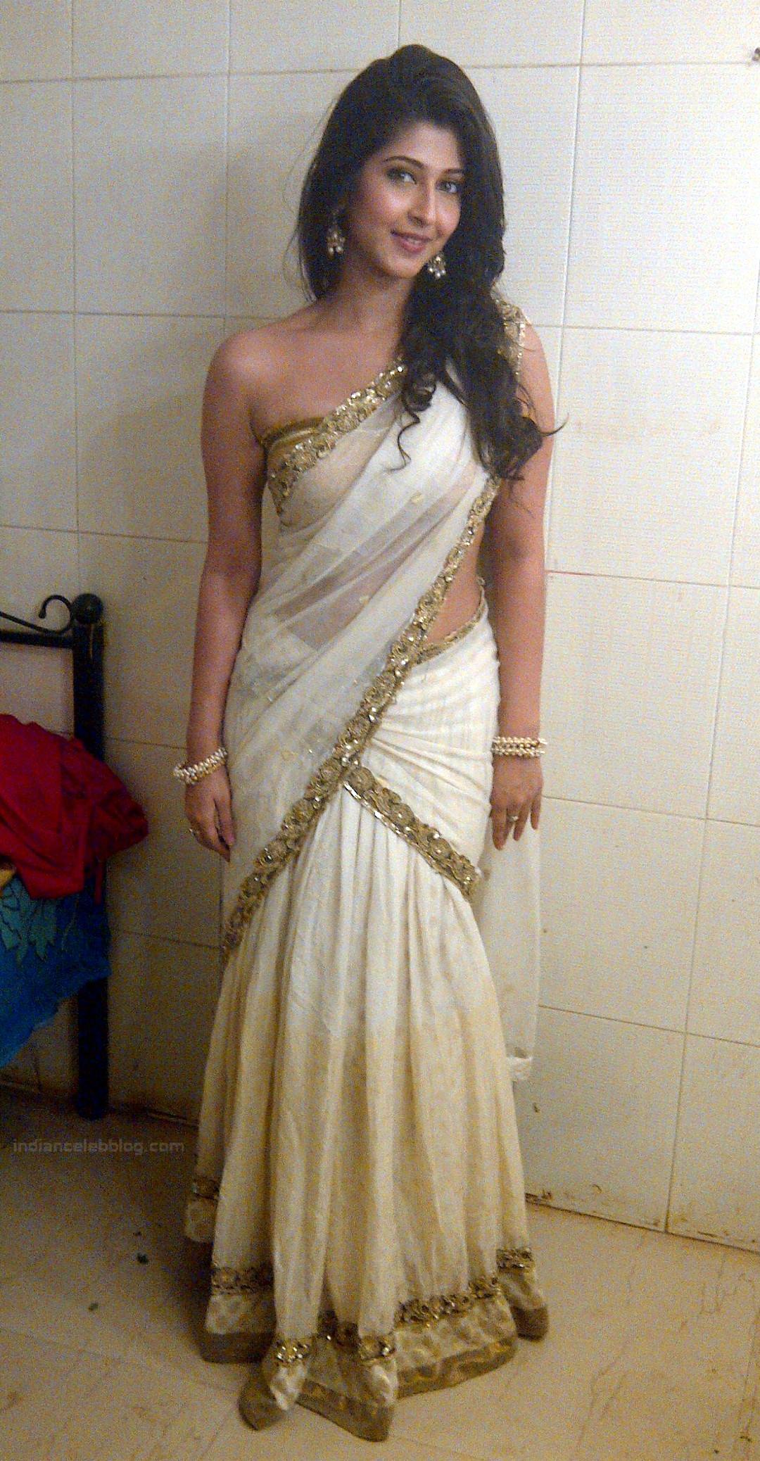Sonarika Bhadoria Tv actress Devon ke dev CTS1_20_Hot Saree image