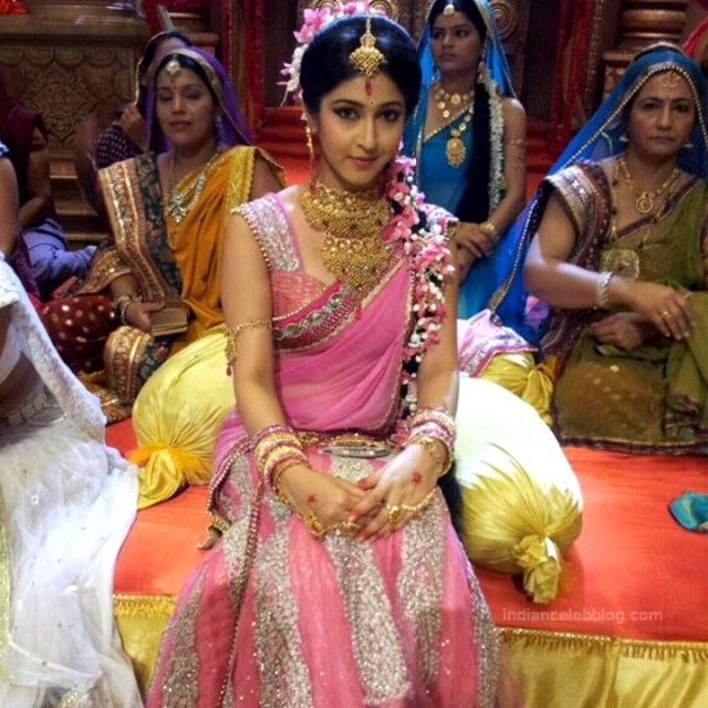 Sonarika Bhadoria Tv actress Devon ke dev CTS1_6_Saree photo