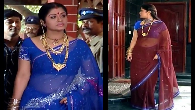 Sudha chandran tamil tv actress Pondatti TS2 8 hot saree photos