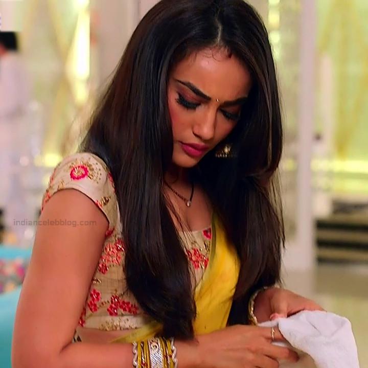 Surbhi Jyoti Hindi TV Actress Naagin 3S2 18 hot sari photo