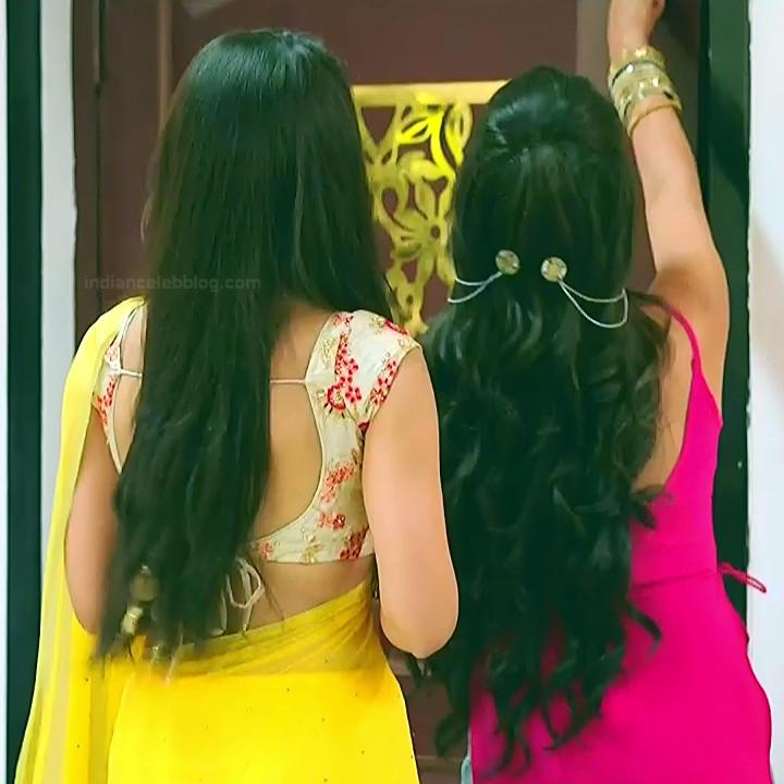 Surbhi Jyoti Hindi TV Actress Naagin 3S2 20 hot saree caps
