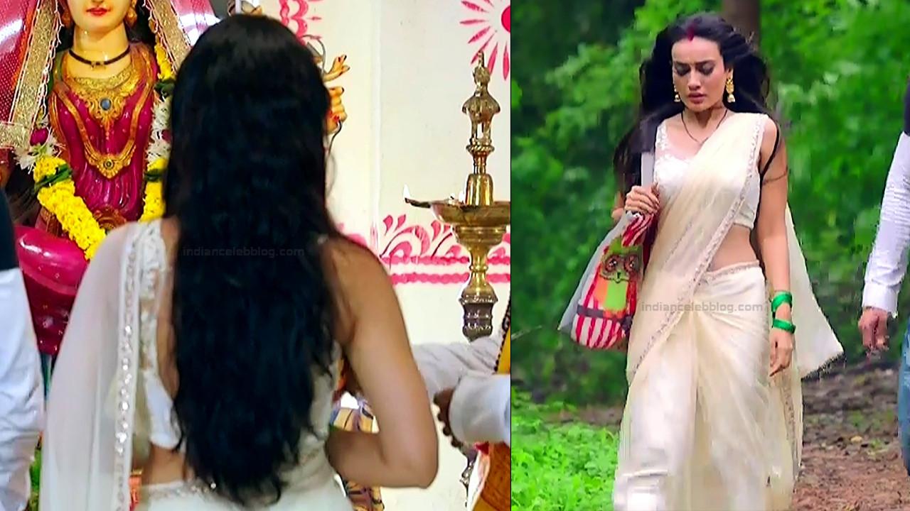 Surbhi Jyoti Hindi TV Actress Naagin 3S2 29 hot saree pics
