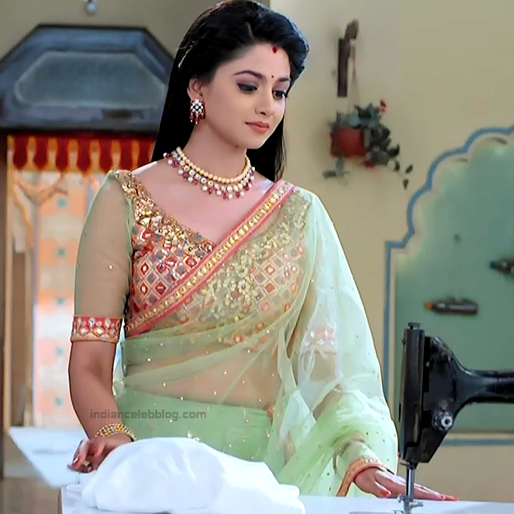 Tanvi Dogra Hindi serial actress Jiji maa S1 14 hot sari photo