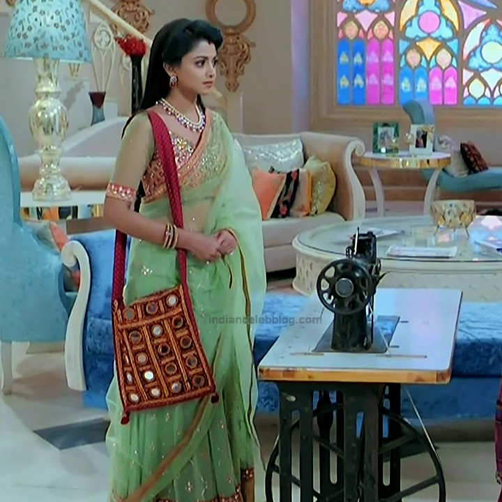Tanvi Dogra Hindi serial actress JijiMS1 10 saree pic