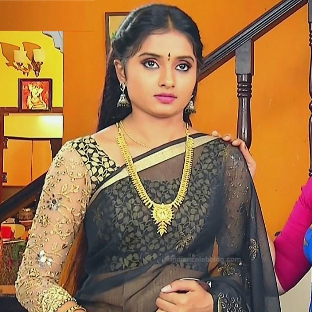 Varshini tamil tv actress sumangali S1 16 hot saree caps