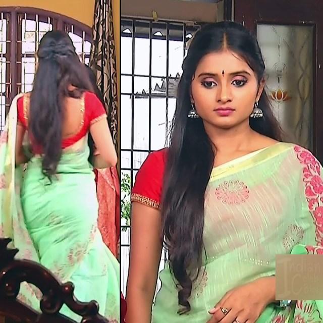Varshini tamil tv actress sumangali S1 7 hot saree pics