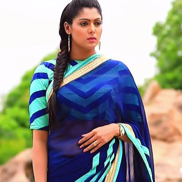 Anu Chinnappa kannada tv actess Muddu LS1 13 saree caps
