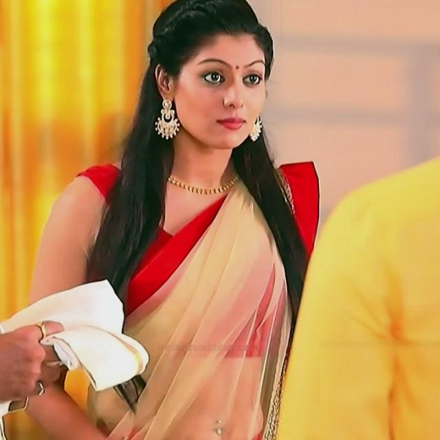 Anu Poovamma kannada tv actess Muddu LS1 8 sari photo