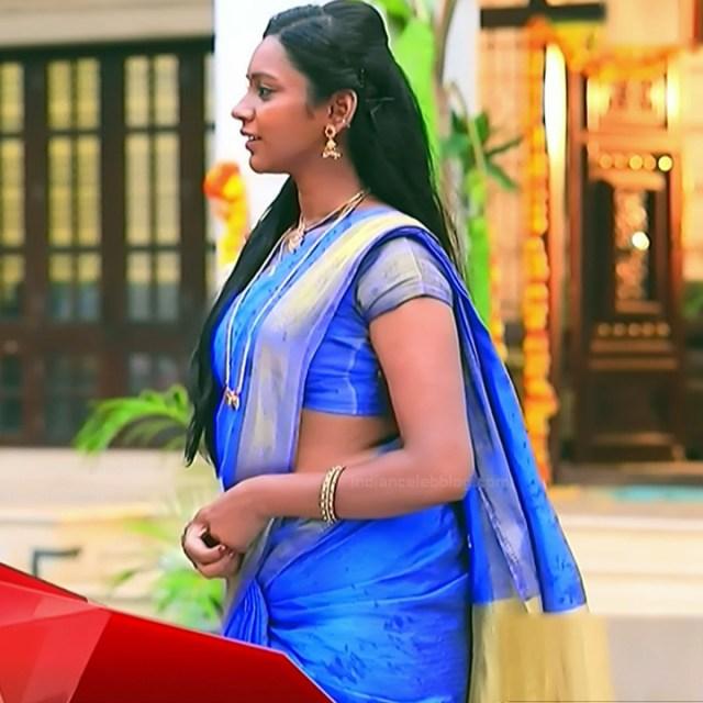 Ashwini Kannada TV actress Muddu LS1 1 saree photo