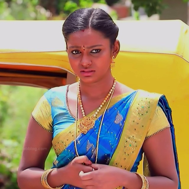 Ashwini Kannada TV actress Muddu LS1 2 saree photo