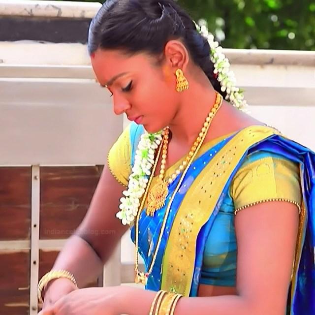 Ashwini Kannada TV actress Muddu LS1 3 saree photo