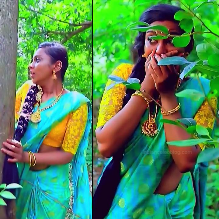 Ashwini Kannada TV actress Muddu LS1 5 saree pics