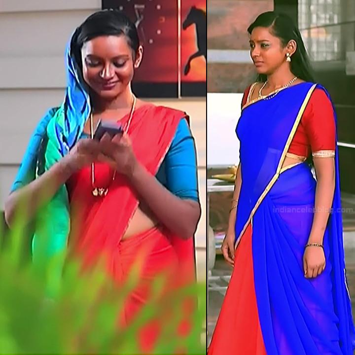 Ashwini Kannada TV actress Muddu LS1 8 sari pics