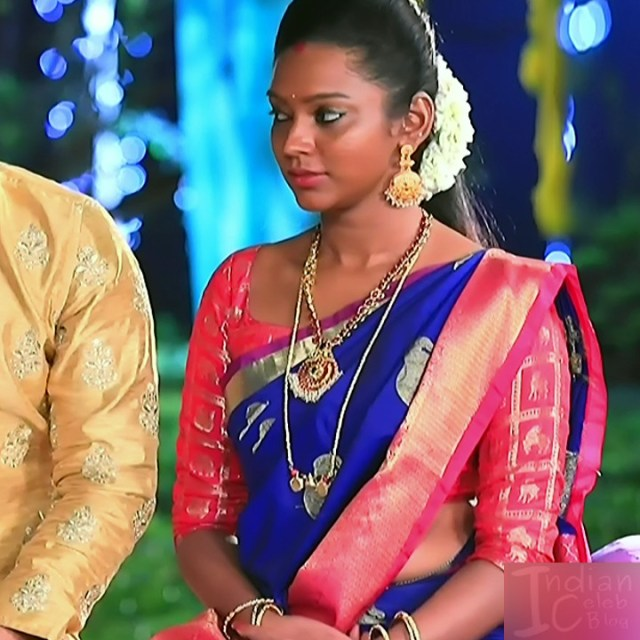 Ashwini Kannada TV actress Muddu LS1 9 sari photo
