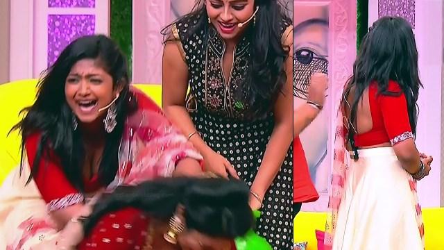 Bhoomi Shetty tv actress Kinnari S3 15 hot reality show caps